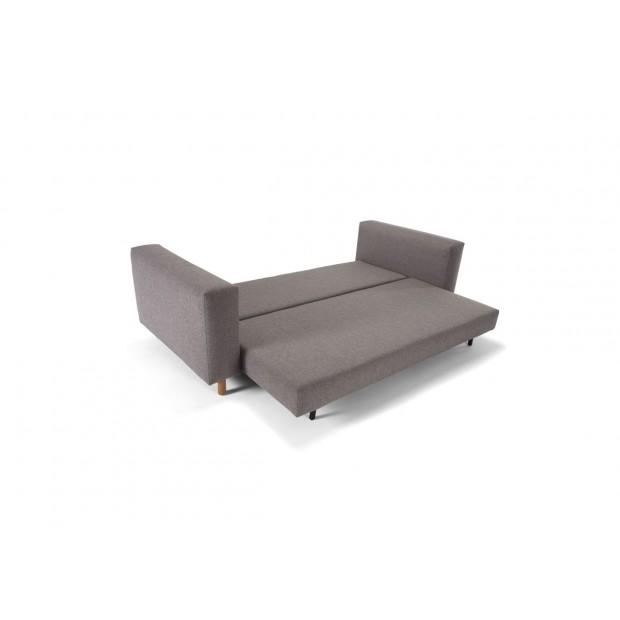Masica sovesofa, 160 x 200 cm. Mixed Dance Grey.-01