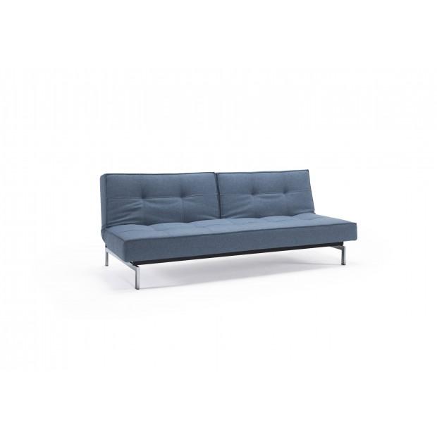 Splitback Chrome sofa. 115 x 200 cm. 7 farver.-31