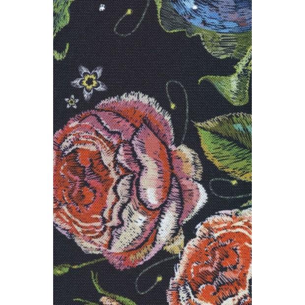 Unfurl Dusty Rose. Sovesofa. 120 x 200 cm.-01