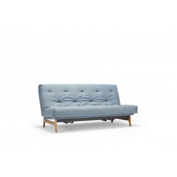 Aslak sovesofa med Soft Spring madras, 140 x 200 cm. 34 farver.-31