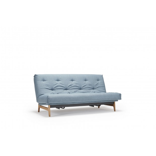 Aslak sovesofa med Soft Spring madras, 120 x 200 cm. 35 farver.-31