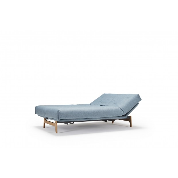Aslak sovesofa med Soft Spring madras, 140 x 200 cm. 35 farver.-01