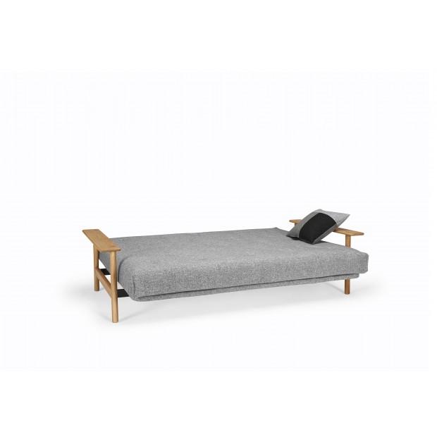 Balder med Soft Spring madras. 140 x 200 cm. 34 farvemuligheder.-01