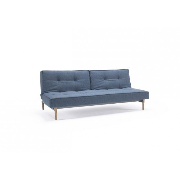 Splitback sovesofa. 115 x 210 cm. 6 farver og 6 benmuligheder.-31