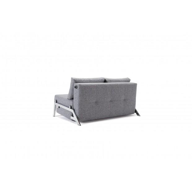 Cubed Deluxe 160 chrom. Sovesofa. 160 x 200 cm. 4 farver.-01