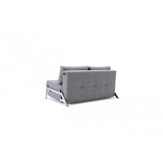 Cubed Deluxe 140 Chrom. Sovesofa. 140 x 200 cm. 4 farver..-01
