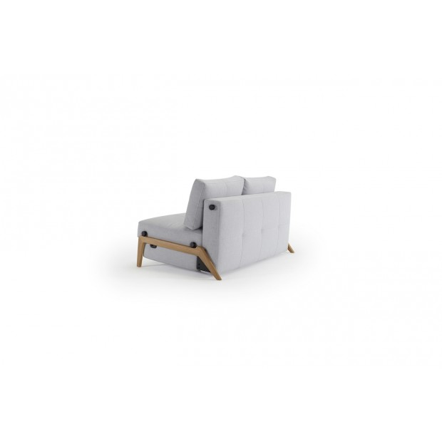 Cubed Deluxe 140 Wood. Sovesofa. 140 x 200 cm. 4 farver..-01