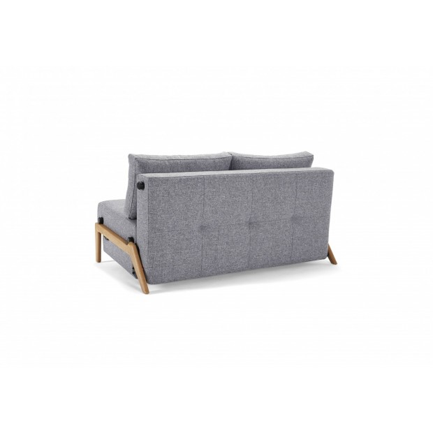 Cubed Deluxe 160 Wood. Sovesofa. 160 x 200 cm. 4 farver.-01