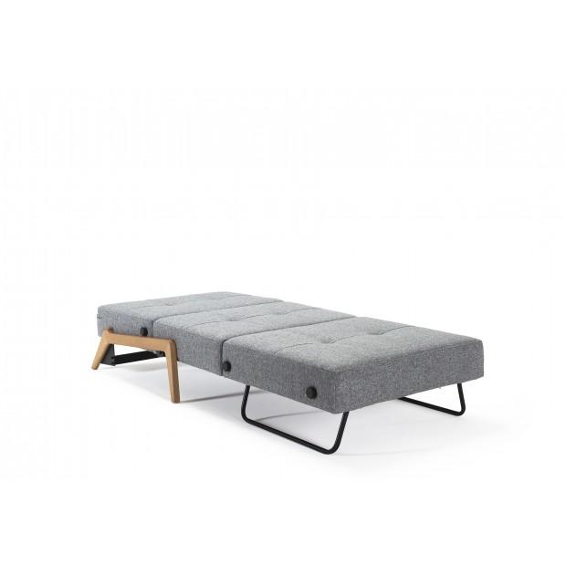 Cubed Deluxe 90 Wood. Sovestol. 90 x 200 cm. 4 farver.-01