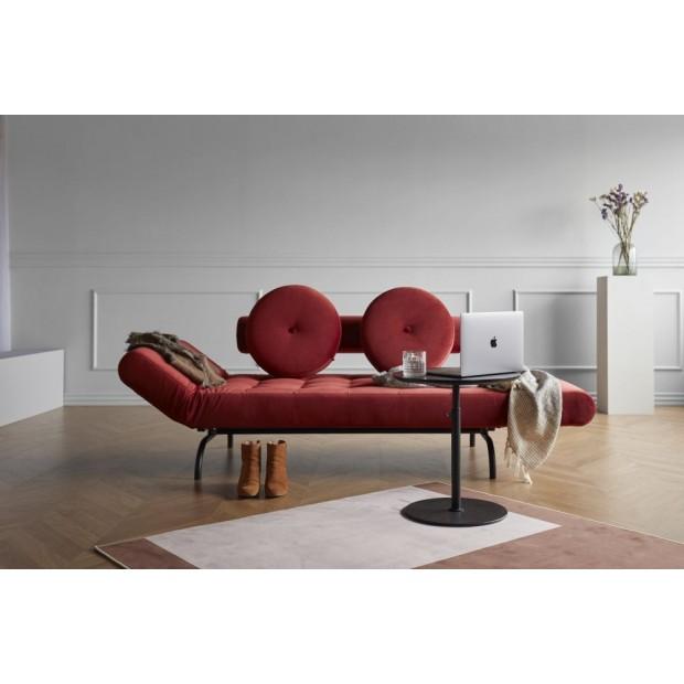 Ghia Haylo, daybed med sorte stålben. 80 x 210 cm. 3 farver.-36