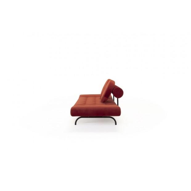 Ghia Haylo, daybed med sorte stålben. 80 x 210 cm. 3 farver.-06