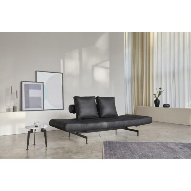 Ghia Laser, daybed med sorte stålben. 80 x 210 cm. 3 farver.-31