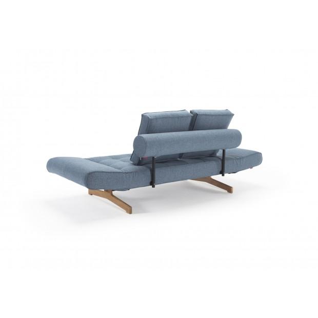 Ghia daybed med Wood ben. 80 x 210 cm. 3 farver.-01
