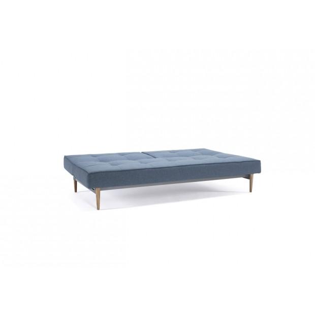 Splitback sovesofa. 115 x 210 cm. 6 farver og 6 benmuligheder.-01