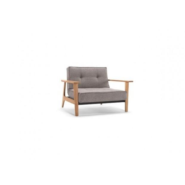 Splitback Frej stol. 6 farver. Armlæn: Natur eller sortlakeret.-01