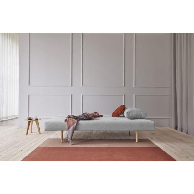 Recast Plus Light Styletto sovesofa, 140 x 200 cm.Micro Check, Grey-01
