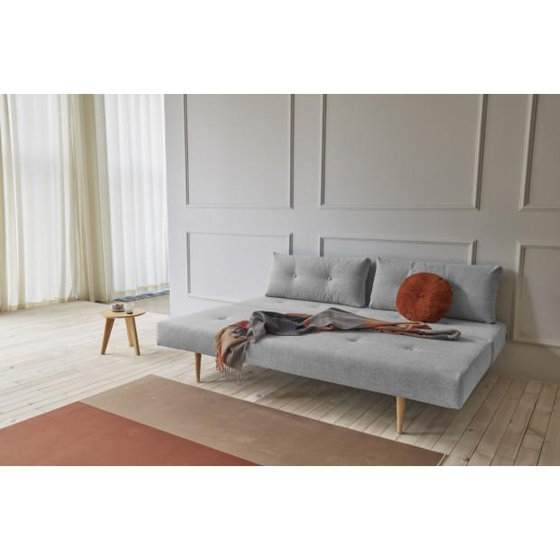 Recast Plus Light Styletto sovesofa, 140 x 200 cm.Micro Check, Grey-02