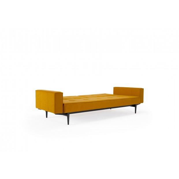 Splitback sovesofa, med stofarmlæn. 115 x 210 cm. SPECIALFARVE.-01