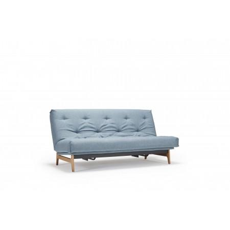 Aslak sovesofa med Soft Spring madras, 120 x 200 cm. 35 farver.-20