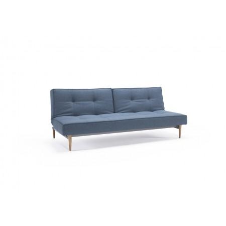 Splitback sovesofa. 115 x 210 cm. 6 farver og 6 benmuligheder.-20