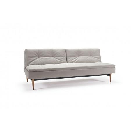 Dublexo Styletto sofa. Mørke ben. 115 x 200 cm. 3 farver.-20