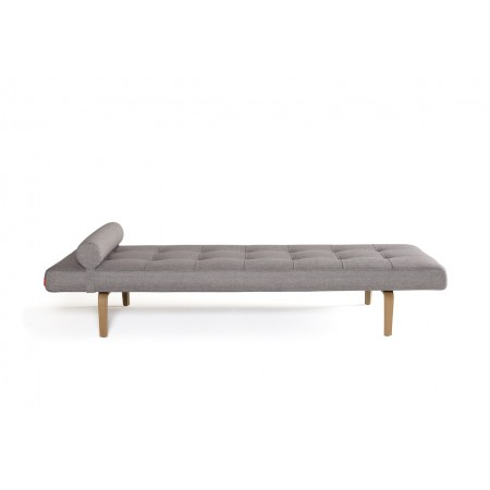 Napper Bow daybed. 80 x 200 cm. Mixed Dance Grey.-20