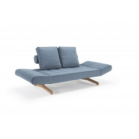 Ghia daybed med Wood ben. 80 x 210 cm. 3 farver.-20