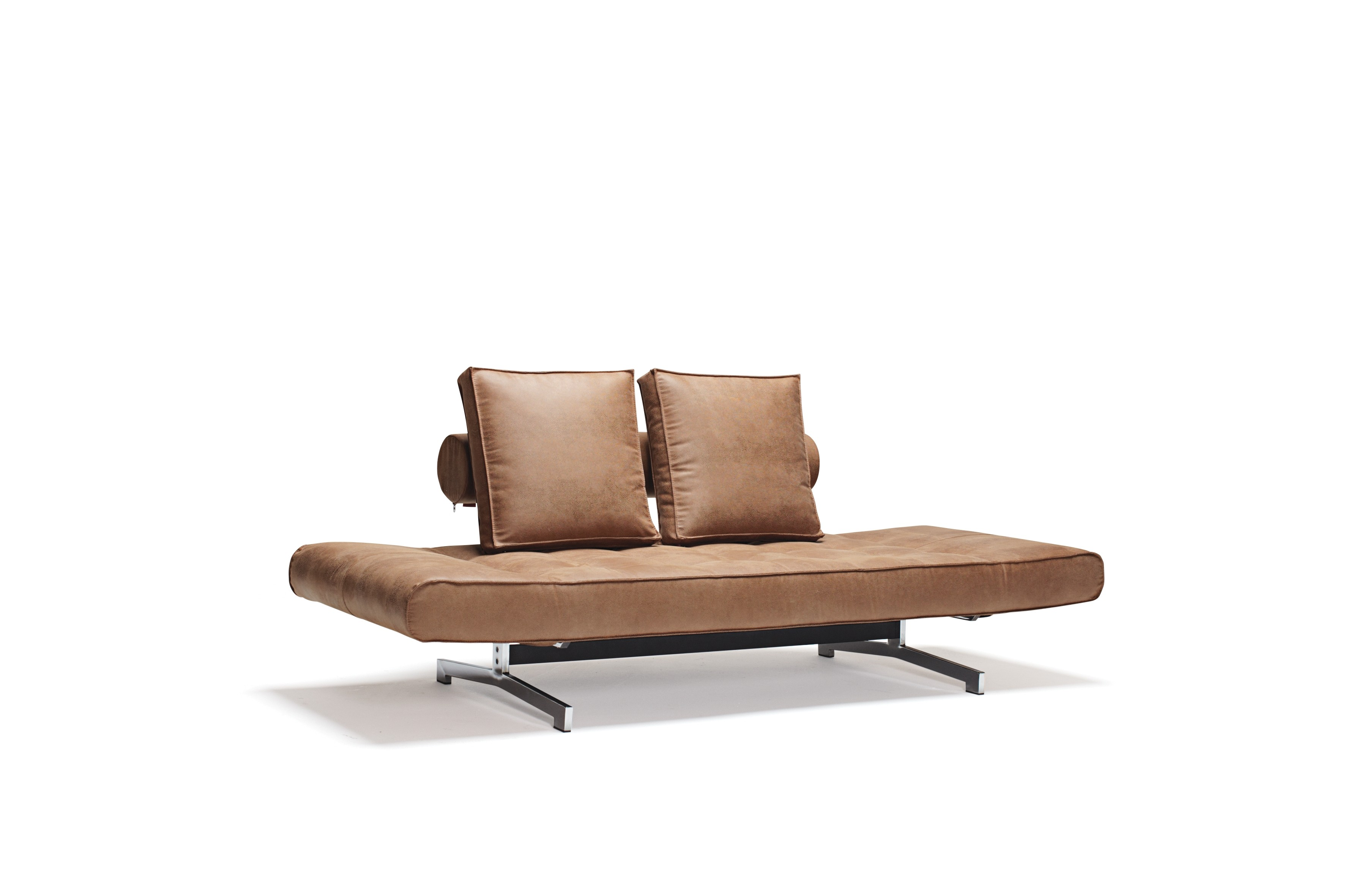 Ghia Chrom, daybed med stålben. 80 x 210 cm. 3 farver.-20