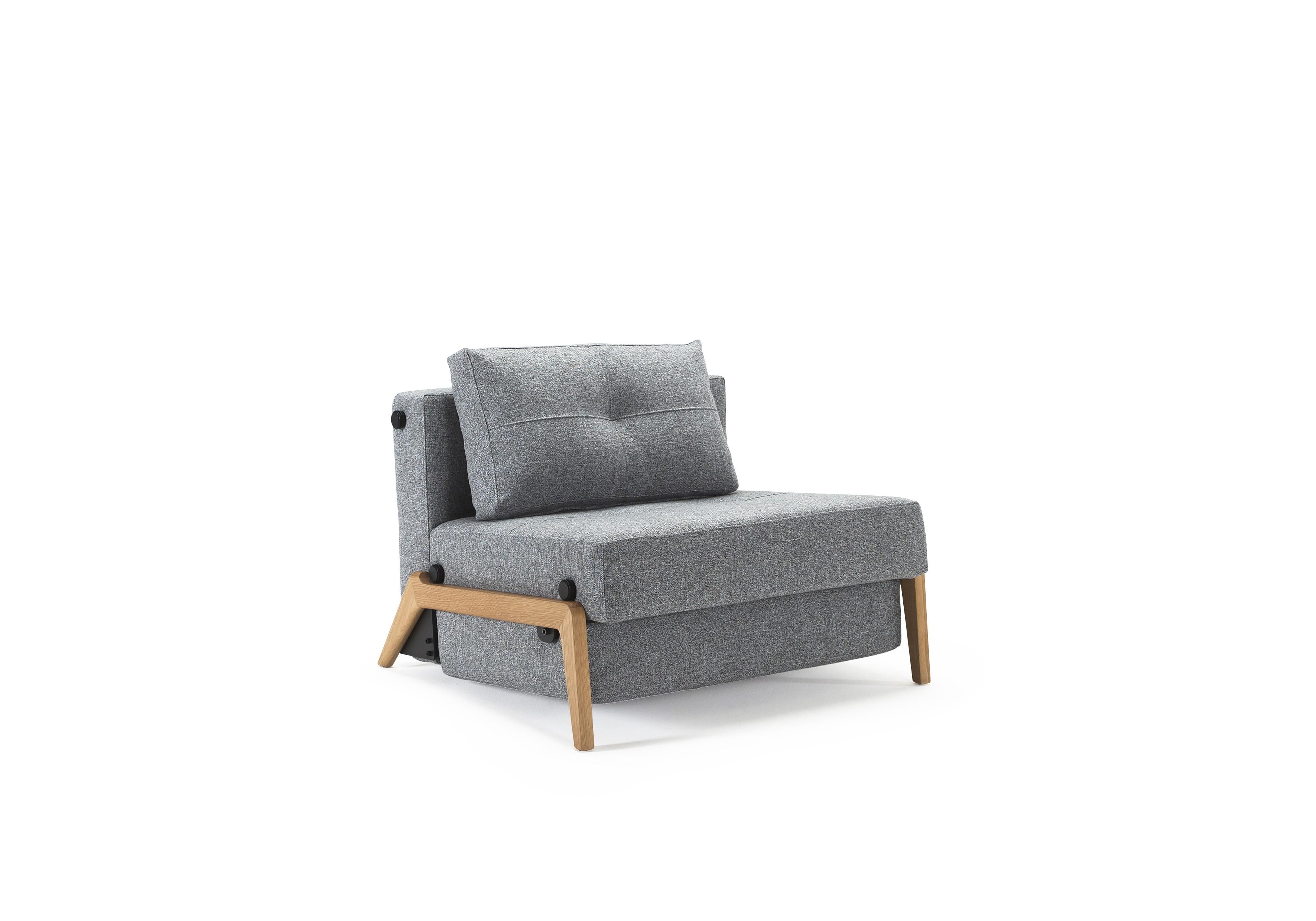 Cubed Deluxe 90 Wood. Sovestol. 90 x 200 cm. 4 farver.-20