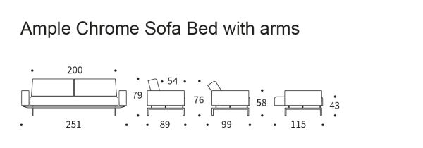 Ample-sofa-bed-chrome-arms-icon